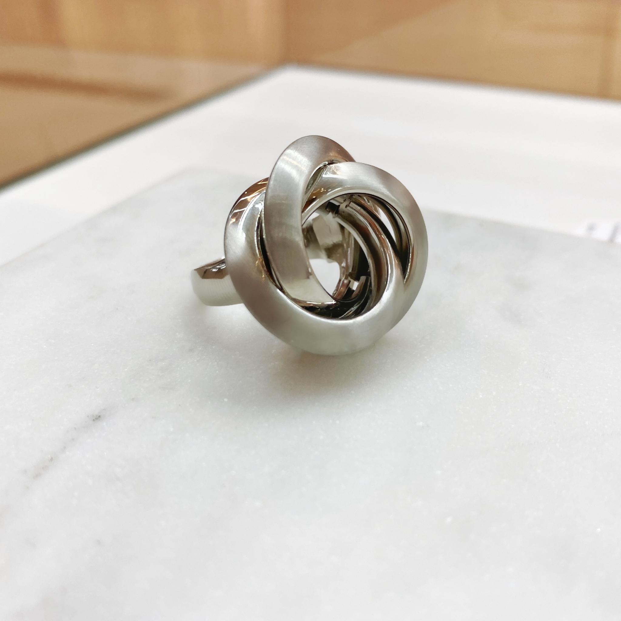Кольцо Vi Водоворот серебро
