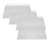 Набор салфеток сервировочных 4шт, 30х40см, артикул 28HZ-9429-4, производитель - Hans&Gretchen