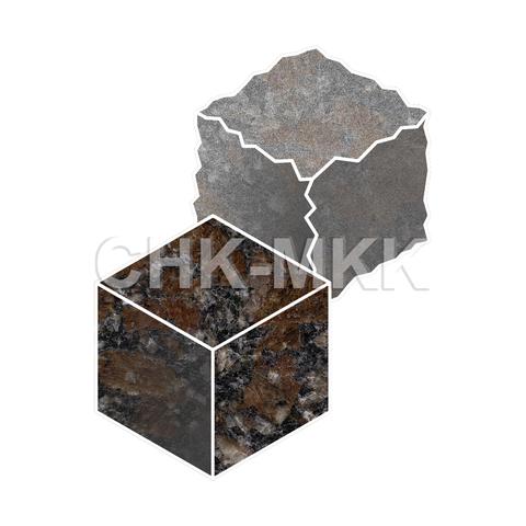 Брусчатка из Капустинского гранита