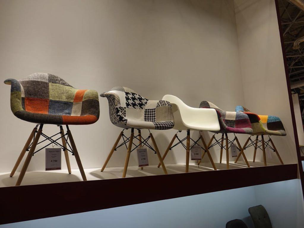 Кресло THEO SPRING (спринг), Кресло THEO MULTICOLOR (мультиколор) и другие стулья печворк