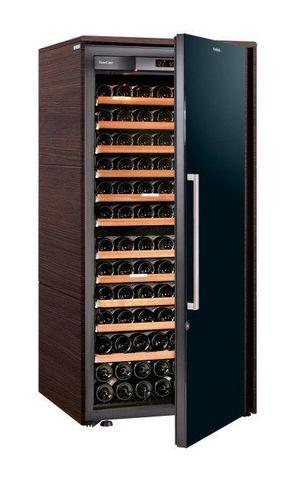Винный шкаф EuroCave S Collection M венге, сплошная дверь, максимальная комплектация