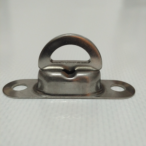Скоба малая поворотная 22,5 х 13,5 мм, нержавеющая сталь