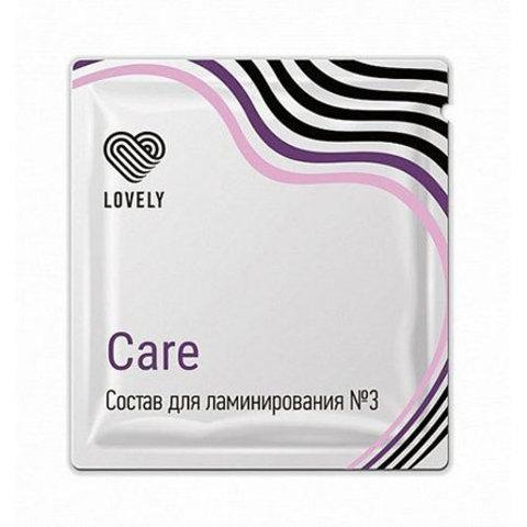 Состав для ламинирования Lovely номер 3 Care в Саше, 1 г