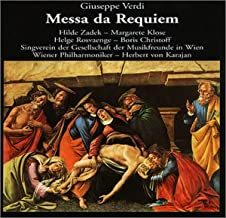 KARAJAN, HERBERT VON:  Messa Da Requiem
