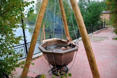 Банный чан – комфортный отдых или «заряд» энергии?