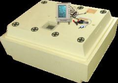 Инкубатор Золушка 100 яиц 220/12v ручной переворот с терморегулятором с ЖК экраном