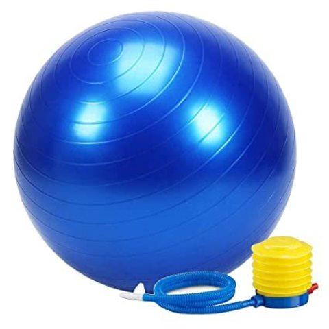 Yoqa-pilates topu \ Мяч для йога-пилатеса \ Yoga-pilates ball 65 sm blue