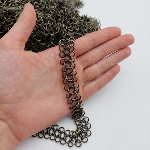 Цепь декоративная ш. 1,8 см, под темный антик