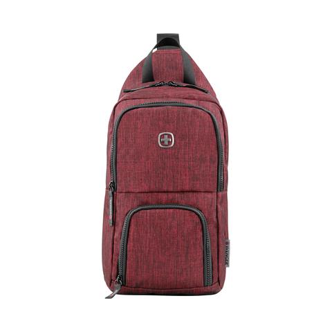 Рюкзак однолямочный Wenger Console бордовый