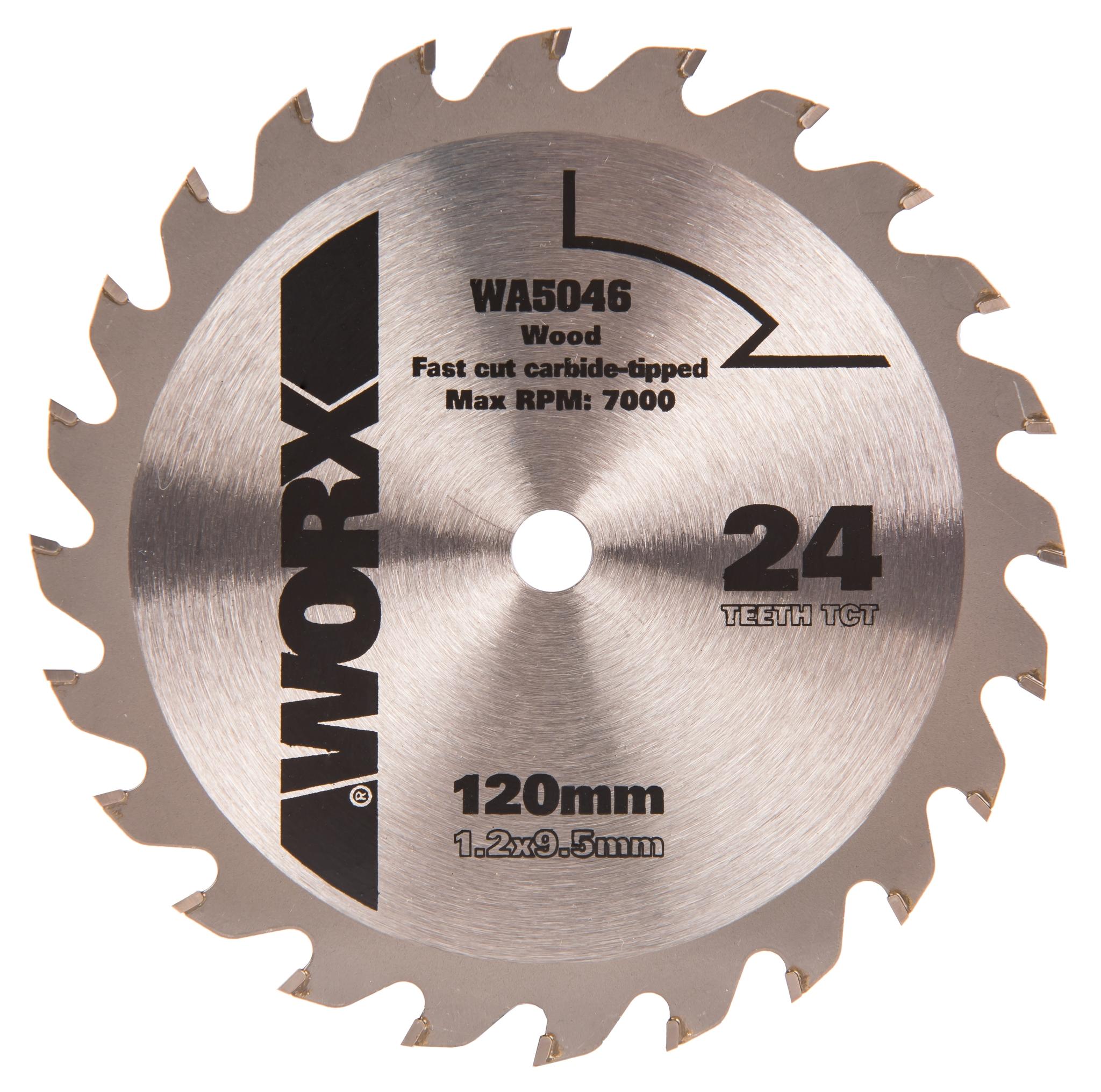 Пильный диск твердосплавный WORX WA5046