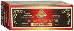 """Сырок """"Б.Ю.Александров"""" глазированный в молочном шоколаде Картошка 20% 50г"""