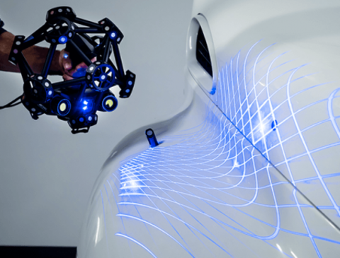 3D-сканер Creaform MetraSCAN BLACK