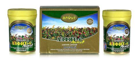 Чай Алфит-Актив № 6 почечный, 60 бр. (Гален)