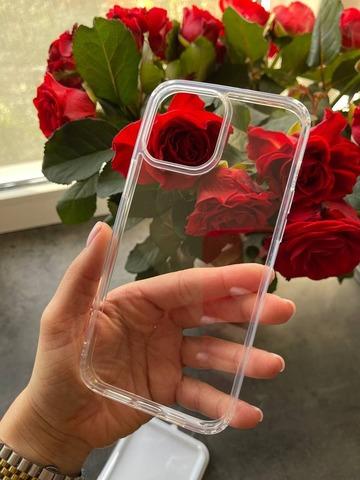 Чехол iPhone 13 Pro Rock Pure Series /transparent/