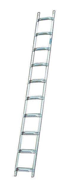 Лестница для крыши из алюминия, 18 перекладин