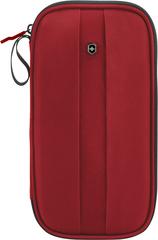 Кошелек-органайзер Victorinox Travel Organizer с защитой от сканирования RFID, красный, 13x3x26 см