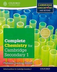 Cambridge Checkpoint Science Secondary 1, Chemistry Oxford University Press