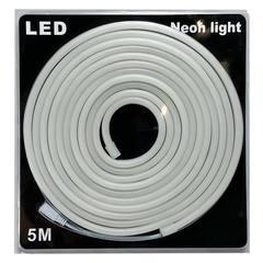Гибкий LED-неон Теплый белый SMD 2835 120 led/м 9.6 Вт 8х16 мм 5 метров