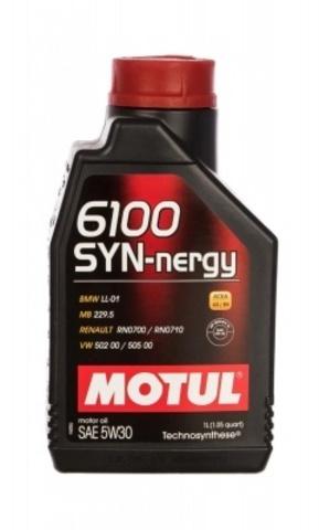Масло моторное MOTUL 6100 SYN-NERGY 5W30