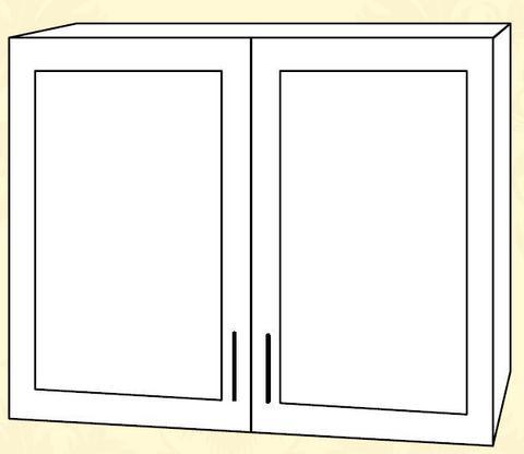 Империя ПС 800 Шкаф верхний стекло