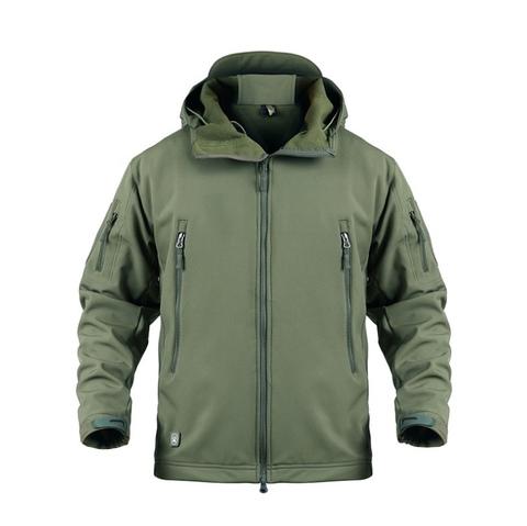 Куртка тактическая, олива Softshell