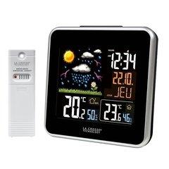 Домашняя метеостанция LaCrosse WS6821 с цветным экраном, белая