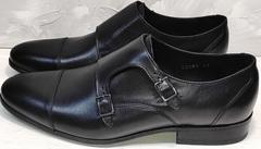 Мужские классические туфли без шнурков Ikoc 2205-1 BLC.