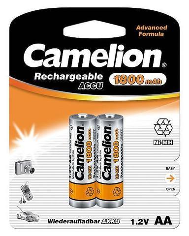 Аккумуляторы CAMELION R 6/2bl 1800 mAh Ni-MH