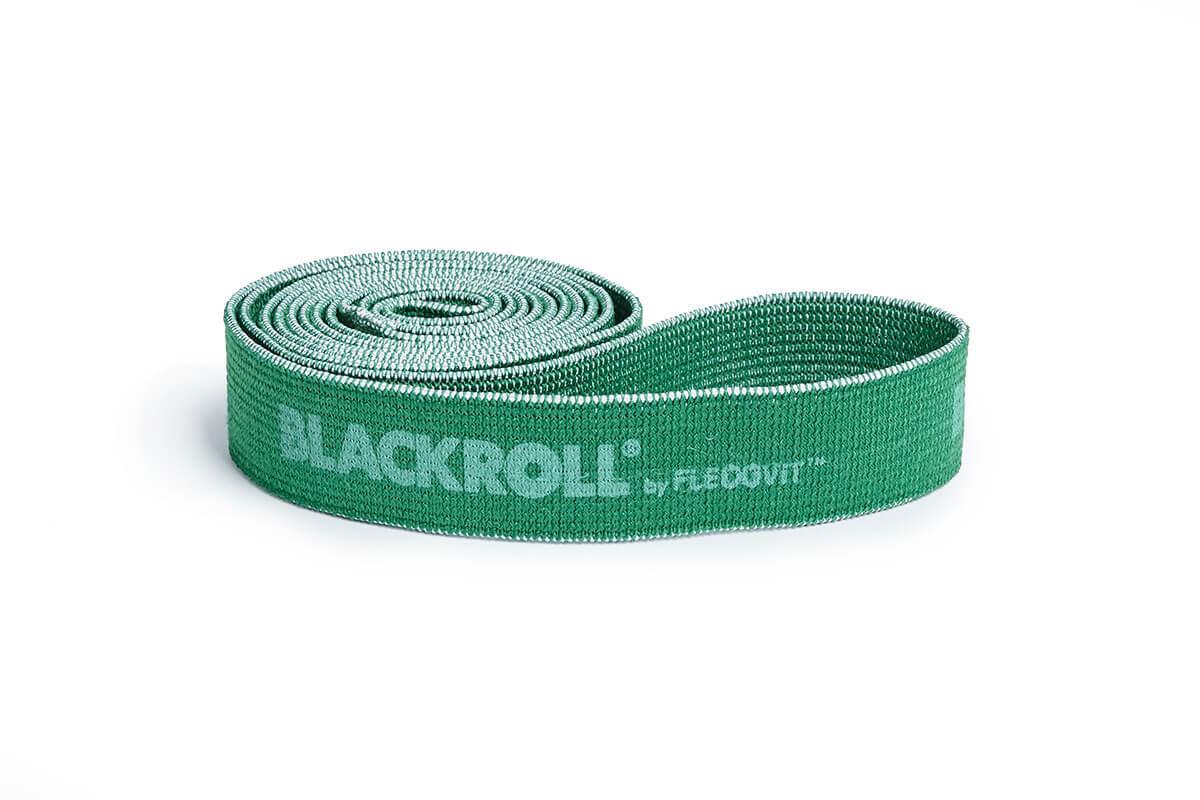 Оборудование BLACKROLL® для тренинга Эспандер-лента текстильная BLACKROLL® SUPER BAND 104 см (среднее сопротивление, зеленая) BR_2018-10_SUPER-BAND_07088_SebastianSchöffel.jpg