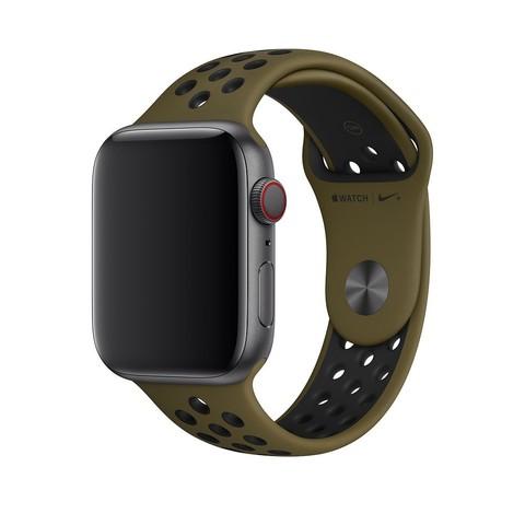 Ремешок Apple watch 42mm Sport Nike /virid black/