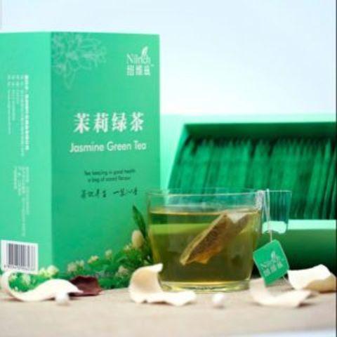 Зеленый чай с жасмином Nilrich 1.5г*30 пакетов