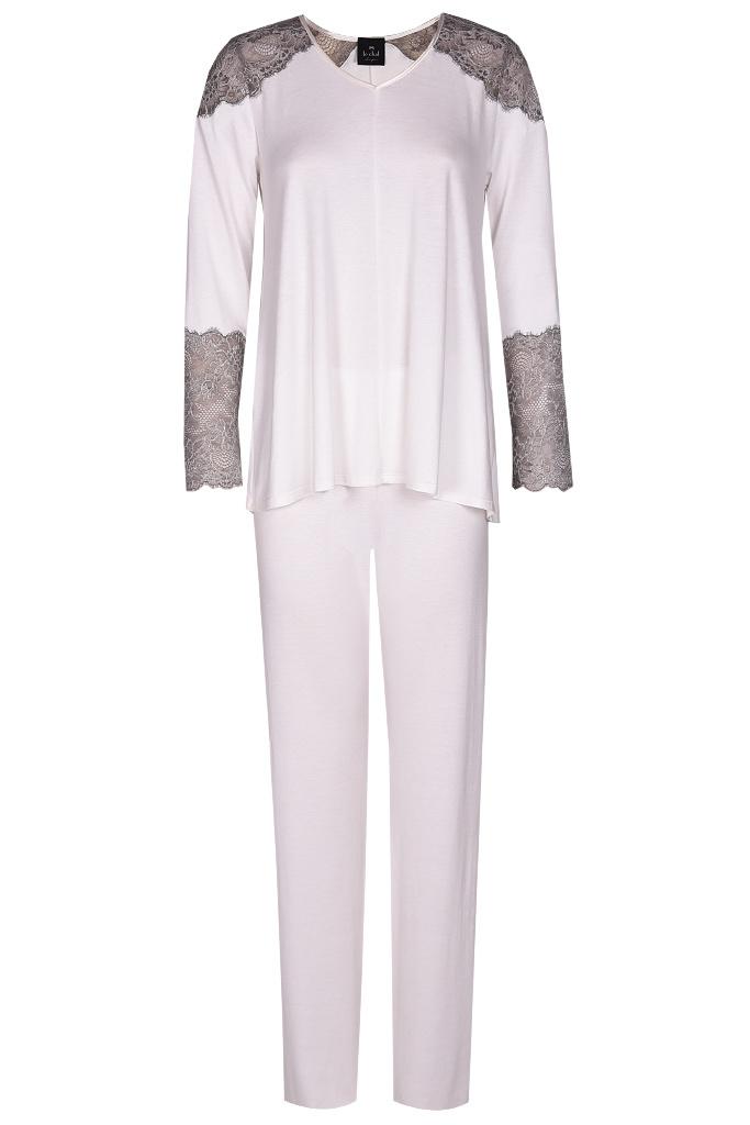 Кремовая пижама с кружевом Le Chat