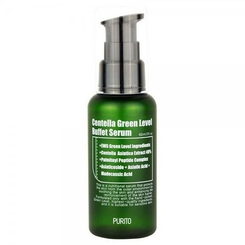 PURITO Сыворотка с центеллой PURITO Centella Green Level Buffet Serum 60ml