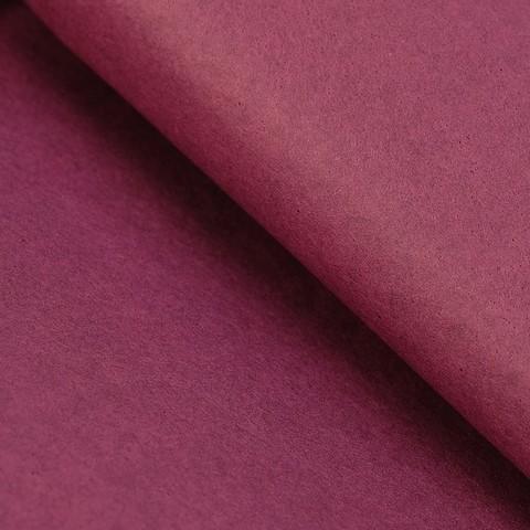Бумага упаковочная тишью, бордовый, 50 х 66 см