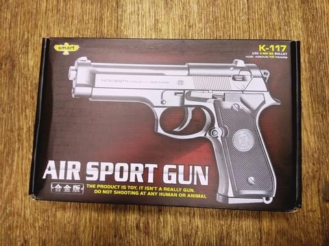 Детский пневматический пистолет. K-117
