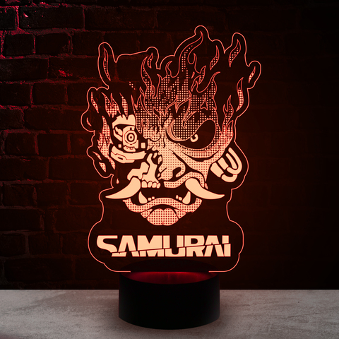 Логотип Samurai Cyberpunk 2077