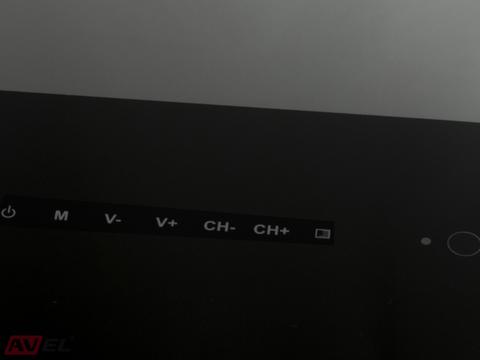 Встраиваемый телевизор AVEL AVS240KS (черная рамка)
