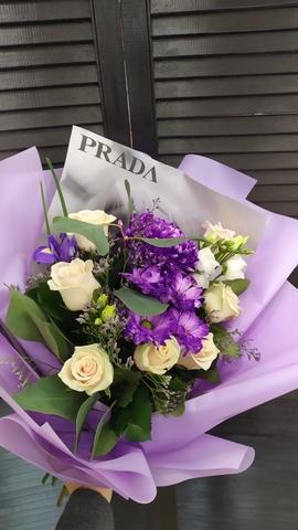 Сборный букет из цветов #6954