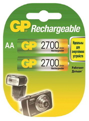 Аккумуляторы GP R-06/2bl 2700mAh Ni-MH