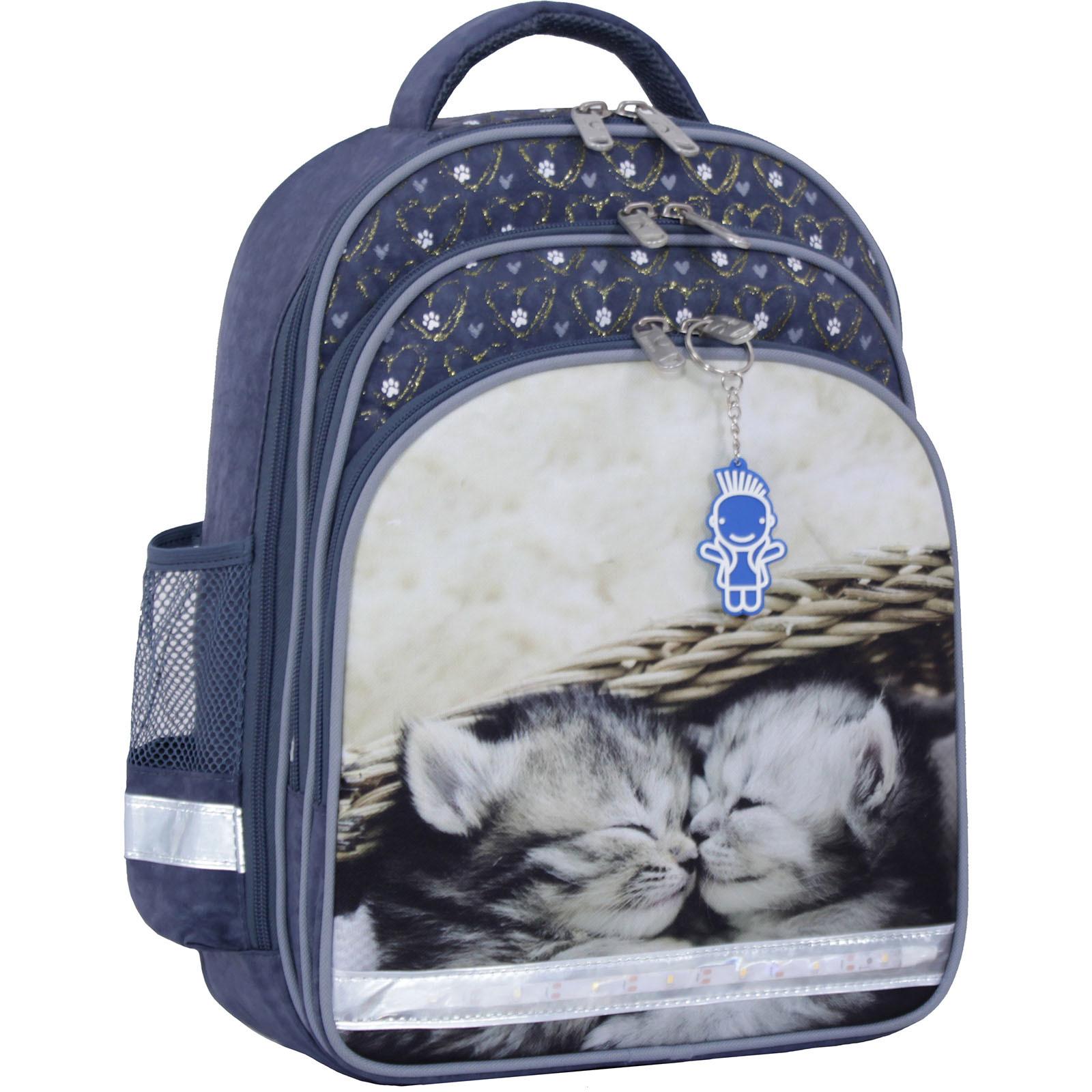 Рюкзак школьный Bagland Mouse 321 серый 165 (0051370) фото 6