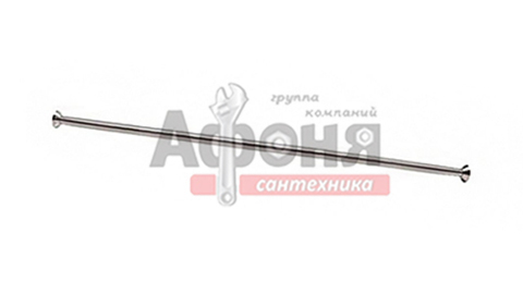 Карниз д/ванной  нержавейка прямой 1,9 м