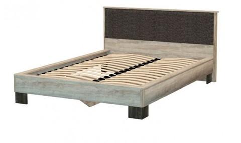 Спальня ВЕРСАЛЬ-2 Кровать (головной щит Ткань) КД 2.7 (160*200)