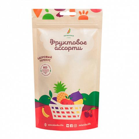 Зеленика фруктовый перекус из фруктового ассорти 20 г