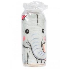 Чудо-Чадо. Плед Мимилашка ультрасофт 120х88 см, розовый/слоник