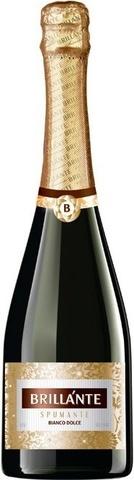 Вино Брилланте игристое белое сладкое 0,75л.