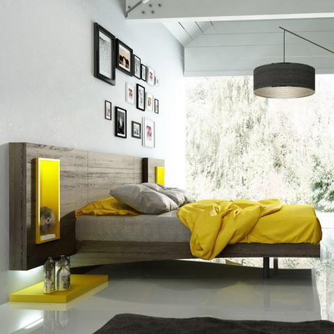 Кровать Fenicia Mobiliario 515 ZARAGOZA Ceniza