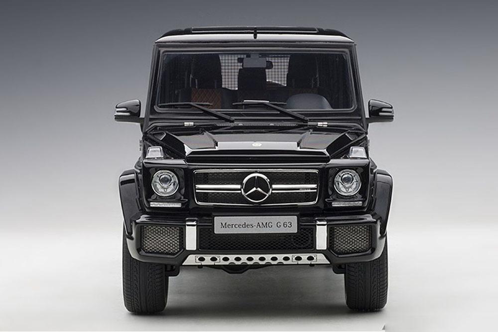 Коллекционная модель Mercedes-Benz W463 G-CLASS AMG G63 2017 BLACK