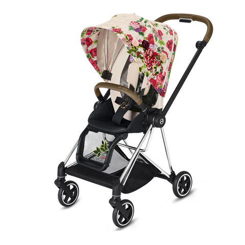 Прогулочная коляска  Cybex Mios Springblossom Light chrome