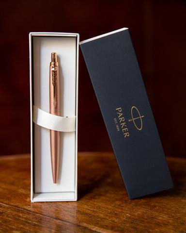 Шариковая ручка Parker Jotter Monochrome XL SE20 Pink Gold PGT123