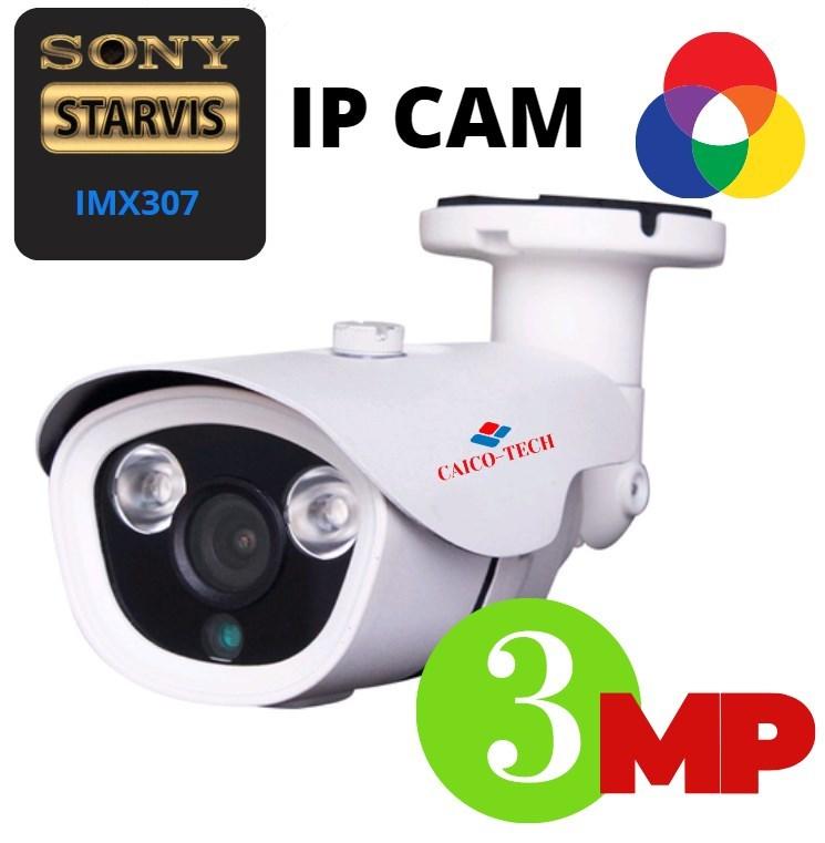 Уличная IP камера STARLIGHT CMOS Sony IMX 307 CAICO TECH FYA 404